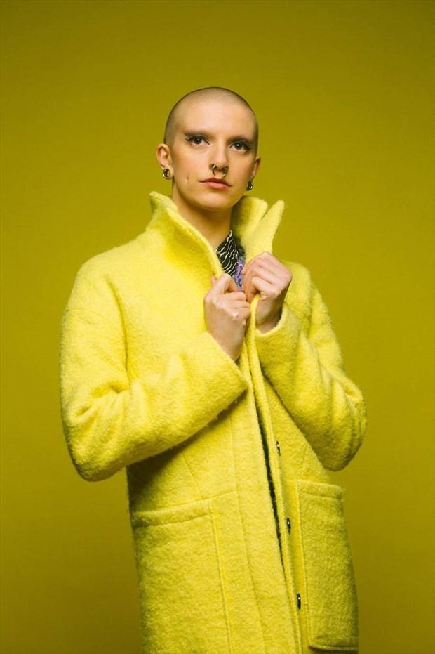 Yellow Alternative Model Photo by Model Talli Lyndsey