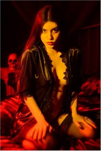 Yellow Glamour Photo by Model Noela Meida