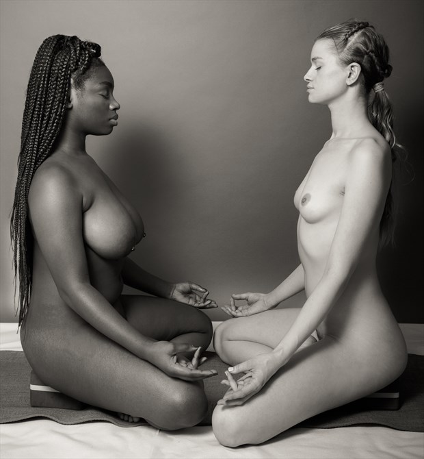 Yoga Series %232 Artistic Nude Photo by Photographer Risen Phoenix