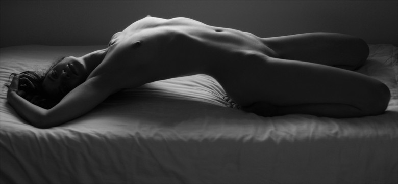 Yoga dreams Artistic Nude Photo by Photographer Roger Mann
