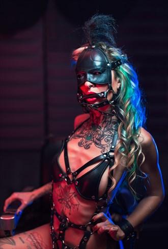 Yoly Azul Tattoos Photo by Photographer Marcos Domenech