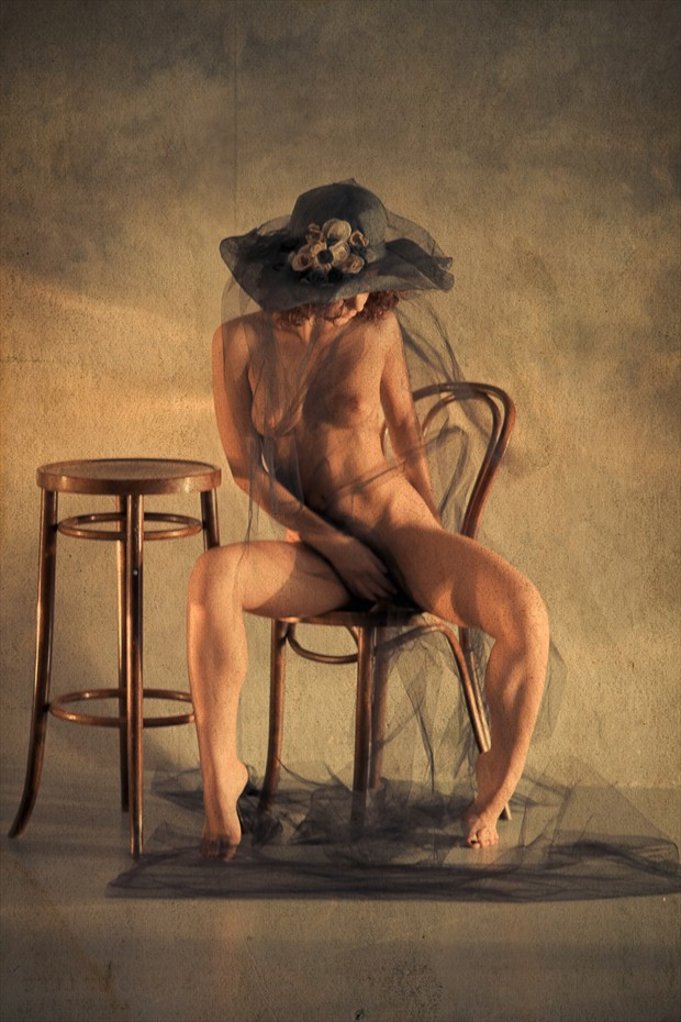 Young Countess Artistic Nude Artwork by Photographer V. Potemkin