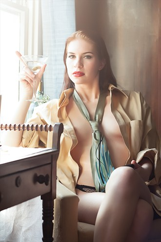 Your Evening Martini Implied Nude Photo by Photographer NVT Photography