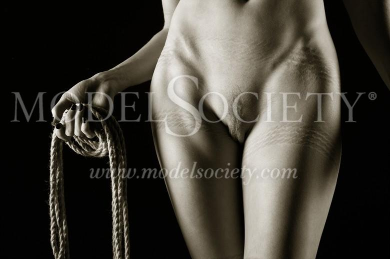 Your Rope Sir! Erotic Photo by Photographer John Tisbury
