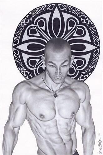 Zen Master Erotic Artwork by Artist Robert Cottrell