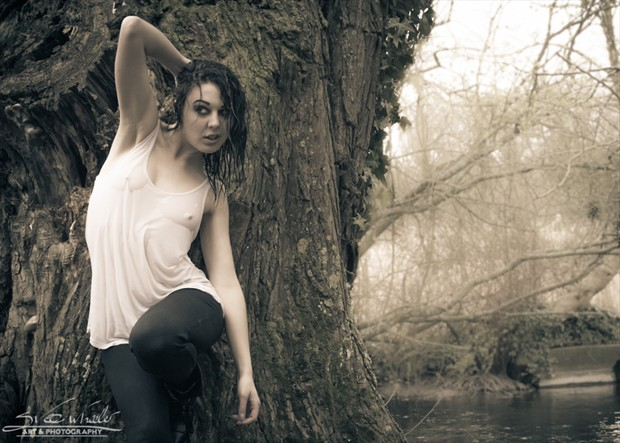 Zoe by the lake Nature Photo by Artist Svee