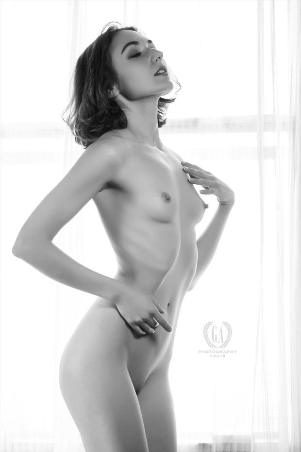 Zoe in the Window Artistic Nude Photo by Photographer G A Photography