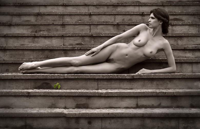 Zoi....STEPS! Artistic Nude Photo by Photographer MaxOperandi