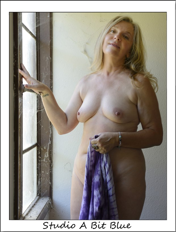 Zushka At Studio Airpark Artistic Nude Photo by Photographer Studio A Bit Blue