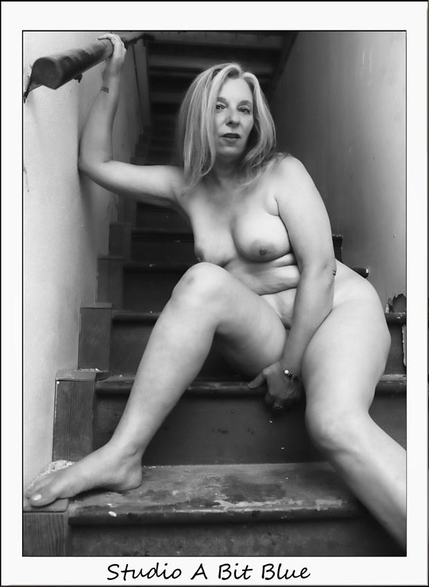 Zushka Biros At Studio Airpark Artistic Nude Photo by Photographer Studio A Bit Blue