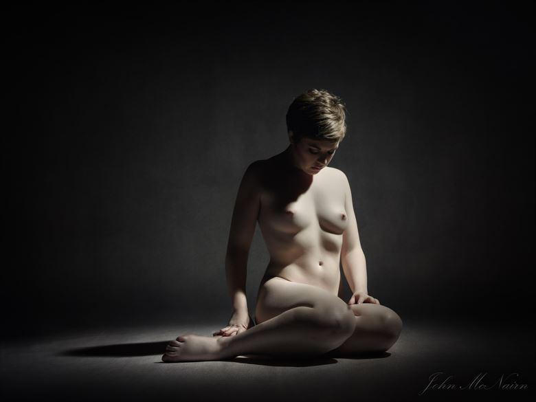 a broken dream artistic nude photo by photographer john mcnairn