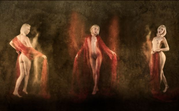 a dance of light and movement artistic nude photo by photographer colin dixon