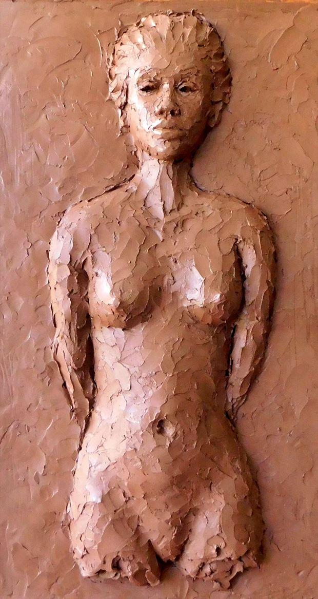 a daughter of the caribbean sun figure study artwork by artist roger burnett