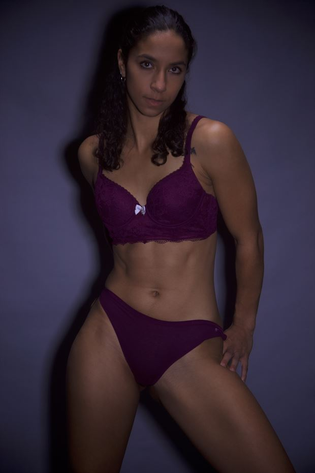 a fit woman wearing lingerie lingerie photo by photographer csdewittphotography