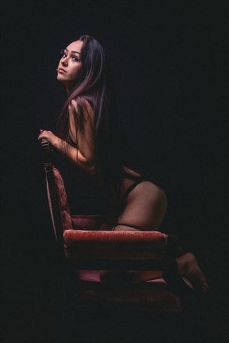 a light in the dark lingerie photo by photographer rhett