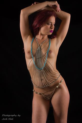 a little bit of bling artistic nude photo by photographer jack hall