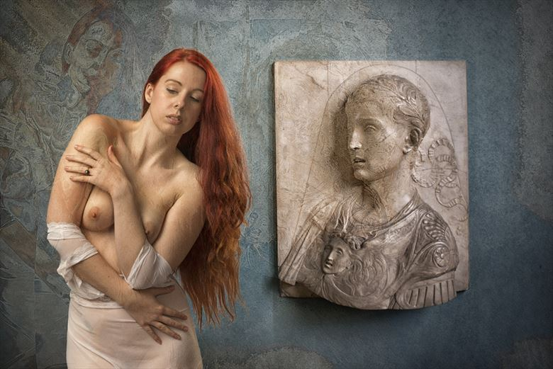 a recollection by a roman artistic nude photo by photographer tom gore