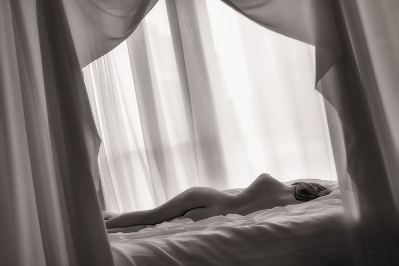 a sleep in the white room artistic nude photo by photographer neilh