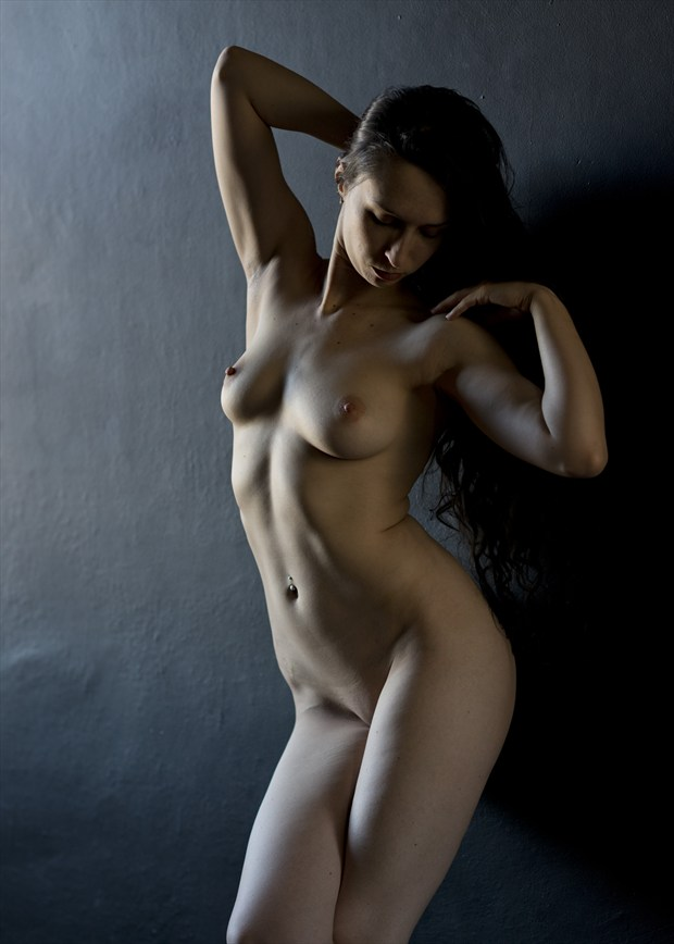 a slice of light artistic nude artwork by photographer alan h bruce