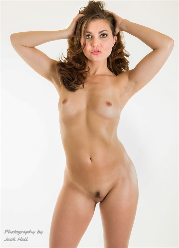 a stephy magazine pose artistic nude photo by photographer jack hall