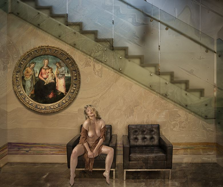 a thought about faith erotic photo by photographer tom gore