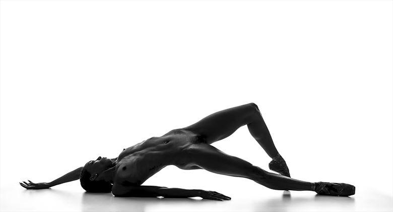 a tinfoil muse ballerina artistic nude photo by photographer bmorrisphoto