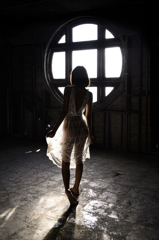 abandon 001 lingerie photo by photographer peter lik