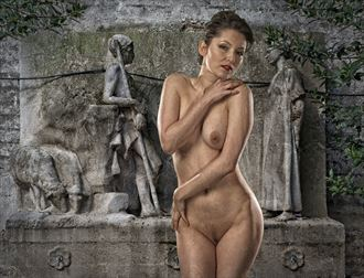 about the flock artistic nude photo by photographer tom gore