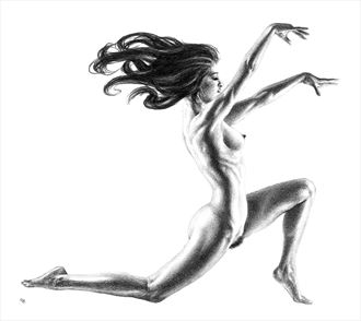 abracadabra artistic nude artwork by artist subhankar biswas