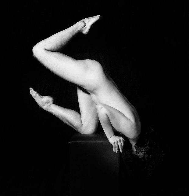 acro nude artistic nude photo by photographer robert l person