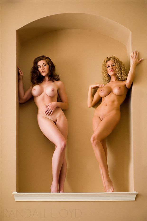 action figure collection artistic nude photo by photographer randall lloyd