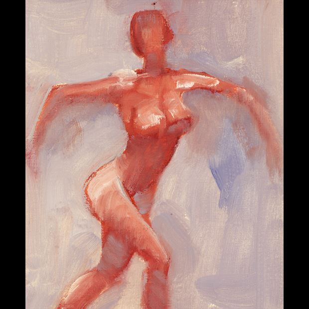 action sketch painting or drawing artwork by artist jean jacques andre