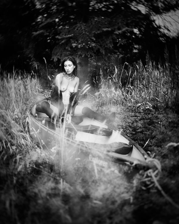 adrift upon the shore w kate snig artistic nude photo by photographer robin burch