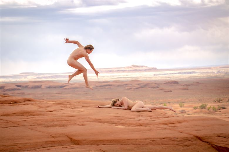 adventure with april white wash sand dunes artistic nude photo by artist april alston mckay