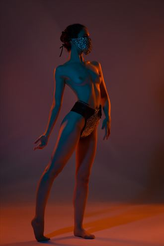 ahna in color 1 artistic nude photo by photographer eric upside brown