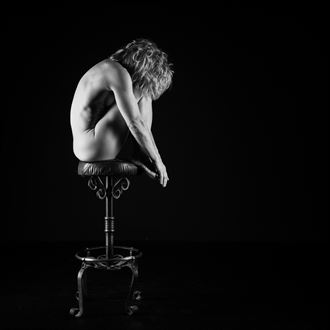 alex and the bar stool studio lighting photo by photographer brian cann