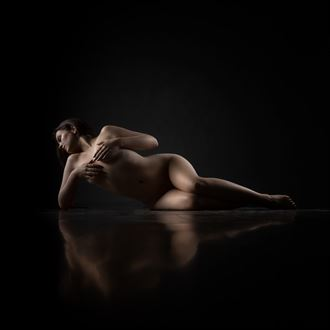 alex artistic nude artwork by photographer richard byrne