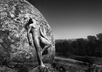 alexander above death valley artistic nude photo by photographer southwestphotography