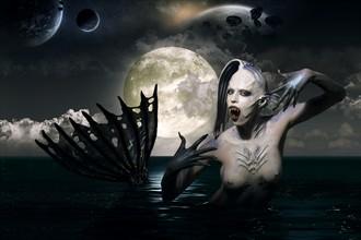 alien mermaid Fantasy Photo by Photographer Andrea Peria