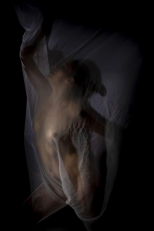 alison au rideau artistic nude photo by photographer antoine peluquere