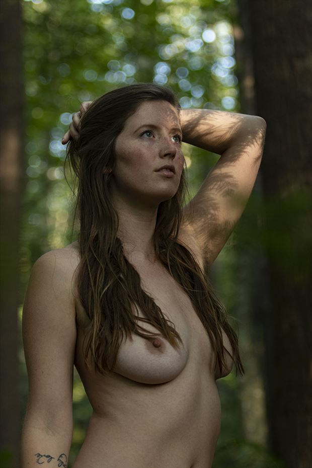 alison in dappled light artistic nude photo by photographer autumn bear photography