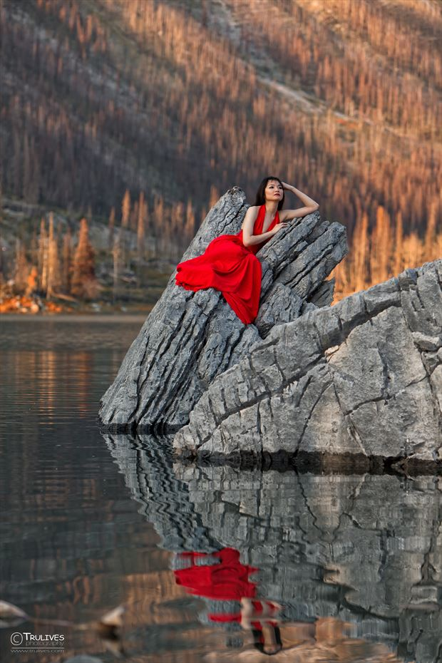 allison reflected nature photo by photographer chris barrett