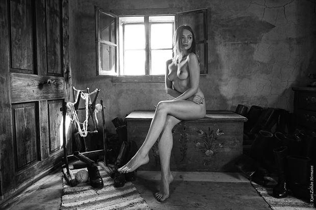 alone artistic nude artwork by photographer zoltan k