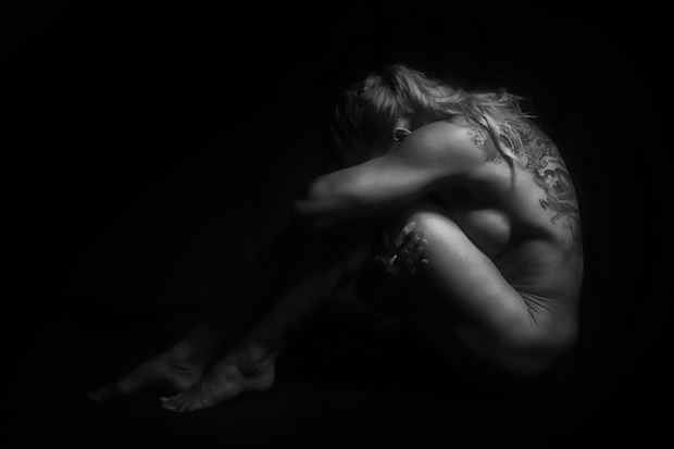 alone body painting photo by photographer bill milward