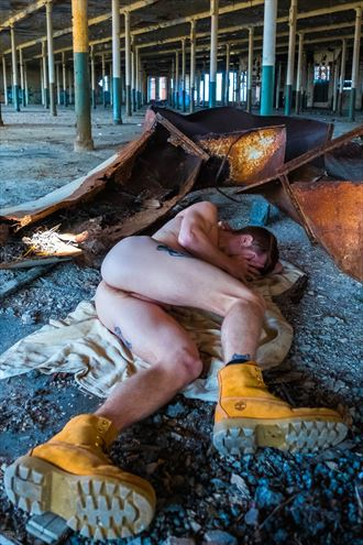 alone in the abandoned mill artistic nude photo by photographer jbdi