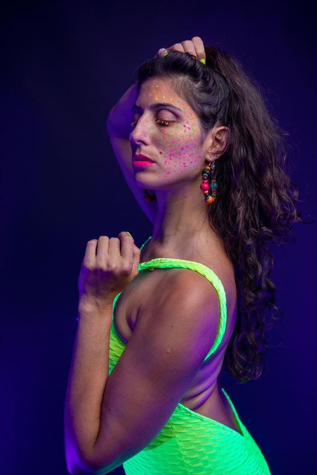alternative model fashion photo by photographer athol peters