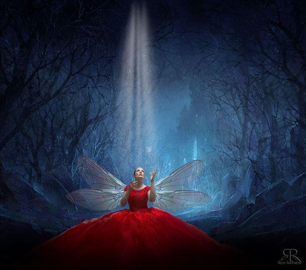 amanda surreal artwork by photographer red rayven