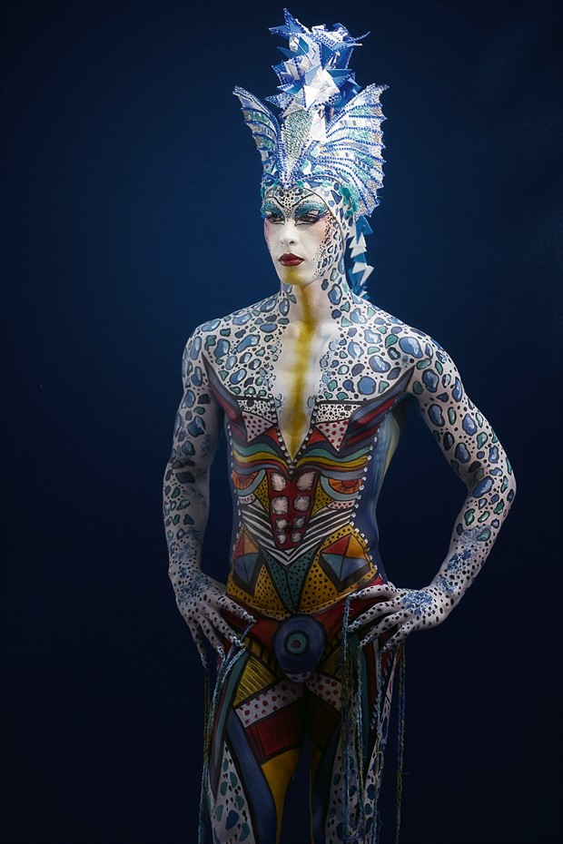 ambiguity Body Painting Photo by Photographer Andrea Peria