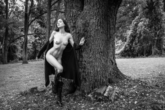 among the trees artistic nude photo by photographer mikewarren