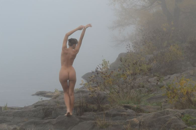 an autumn blues artistic nude photo by photographer nobudds
